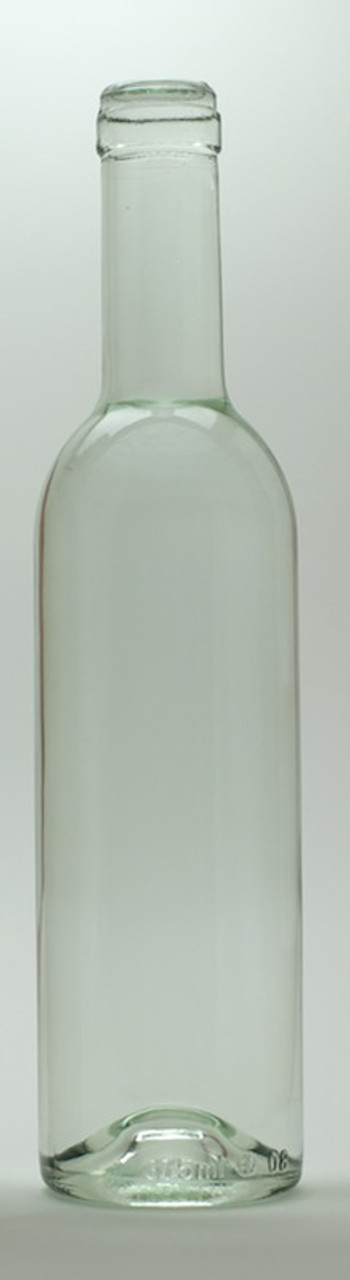 375ml Clear Semi-Bordeaux Mid-Punt Bottles 12/Case