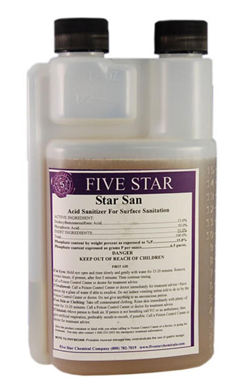 Five Star Star San 16 Oz