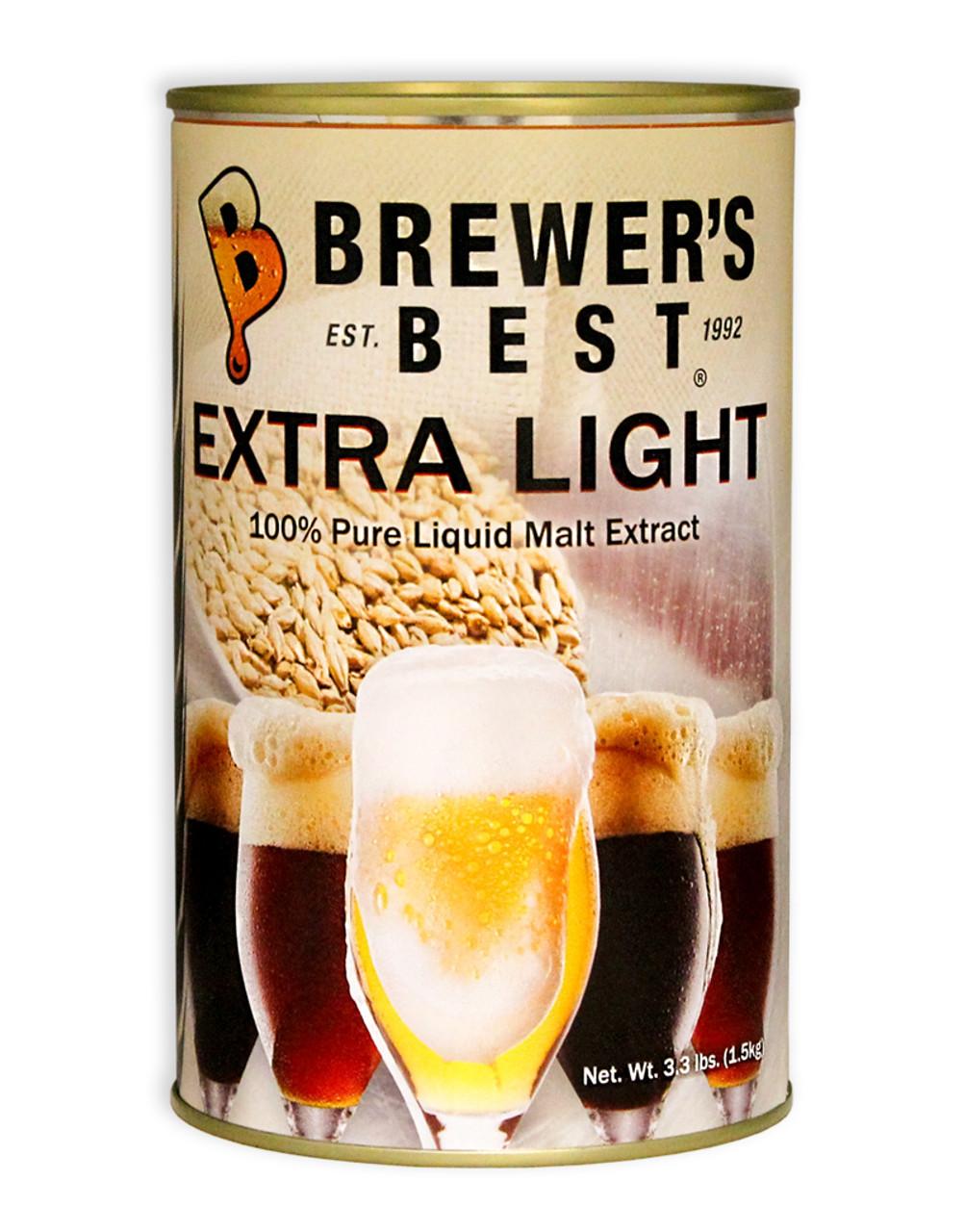 Brewers Best® Extra Light Liquid Malt Extract 3.3 Lb