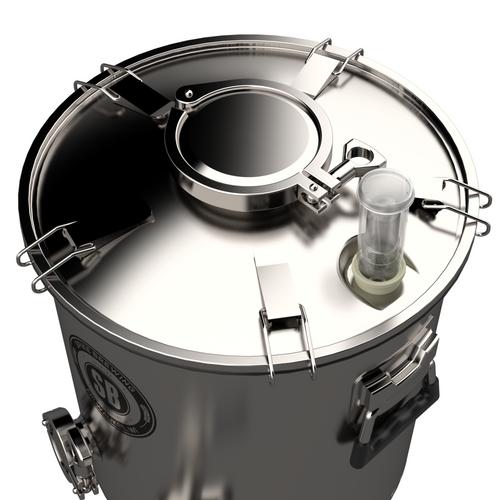 Spike Flex 7 Gallon Stainless Steel Fermenter With Ball Valve