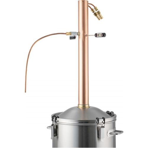 DigiBoil Still Kit with Copper Reflux Still Condenser 9.2 Gal - 110v