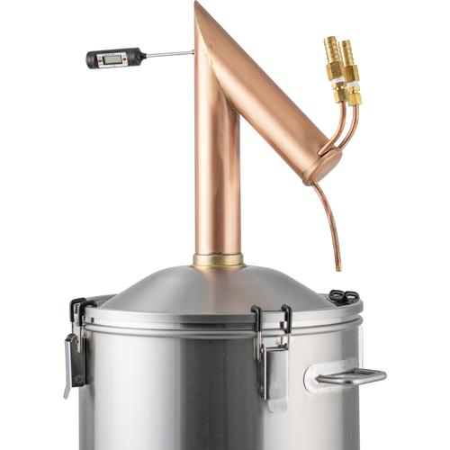 DigiBoil Still Kit with Copper Pot Still Condenser 9.2 Gal - 110v