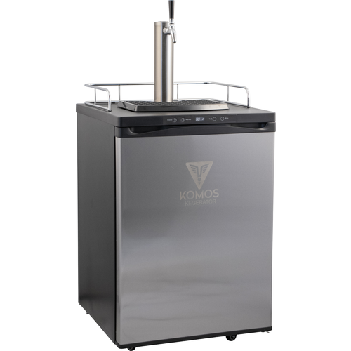 KOMOS® V2 Kegerator with Stainless Steel Intertap Faucets (Up to 4 Taps)