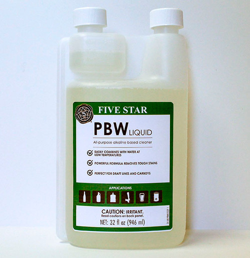 Liquid PBW by Five Star - 32 Oz.
