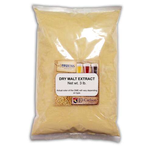 Briess CBW Golden Light Dry Malt Extract 3 Lb