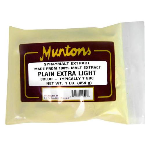 Muntons 1 Lb Plain Extra Light Spray Dried Malt Extract