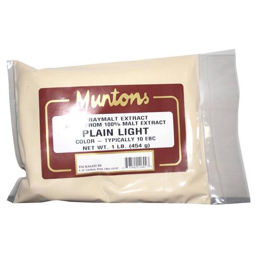 Muntons 1 Lb Plain Light Spray Dried Malt Extract