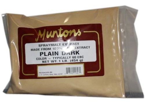 Muntons 1 Lb Plain Dark Spray Dried Malt Extract