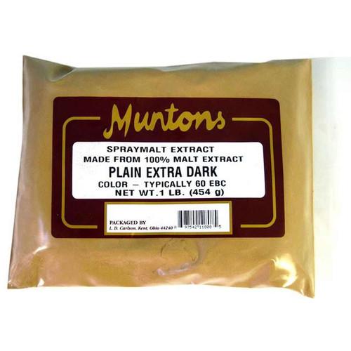 Muntons 1 Lb Plain Extra Dark Spray Dried Malt Extract