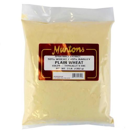 Muntons 3 Lb Plain Wheat Spray Dried Malt Extract