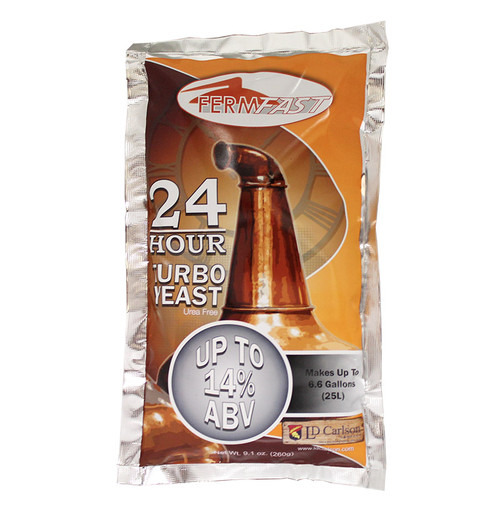Fermfast 24 Hour Turbo Yeast 260 Gram (UREA Free)