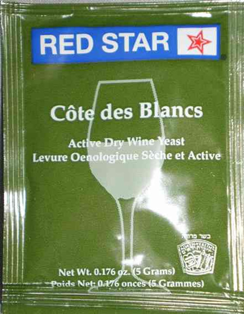 Cote Des Blanc Epernay 2 Red Star Active Wine Yeast