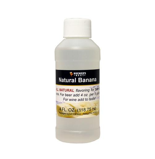Natural Banana Flavoring Extract 4 Oz