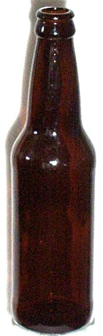 12 Oz Amber Beer Bottles 24/Case