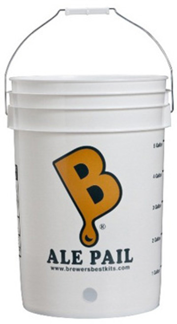 """Ale Pail"" 6.5 Gallon Bottling Bucket With 1"" Hole"