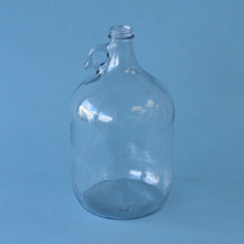 Clear One Gallon Glass Jug