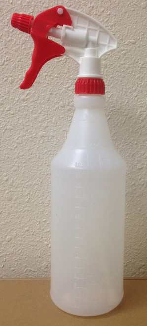 Graduated Spray Bottle 1 Quart Capacity