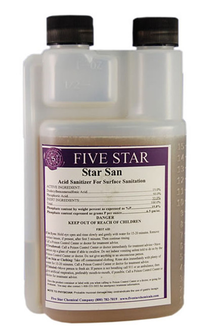 Five Star Star San 16 Oz