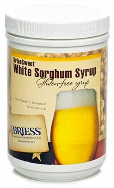 Briessweet White Sorghum Syrup 45 HM Canister 3.3 Lb