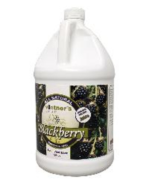 A blend of juice concentrates, corn syrup, citric acid and natural flavor designed to make a fermentable base for blackberry wine blend at 18.9 Brix. The product is blended, pasteurized and can be stored at ambient temperature. Acidity : 2.4; 2.2 - 2.6 % w/w (as citric acid) (AOAC Method 942.15) Recommended Yeast: Lalvin K1V-1116 or Red Star Montrachet
