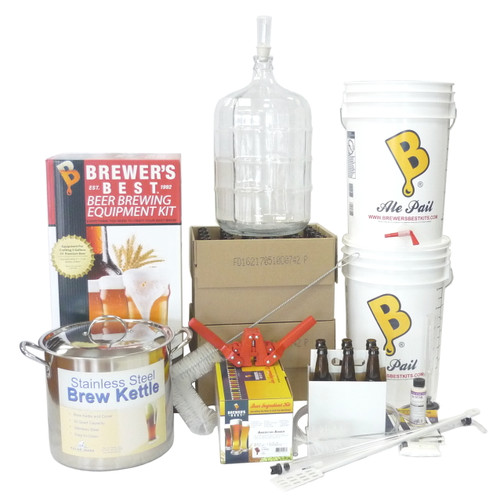 Complete 5 Gallon Homebrewing Kit