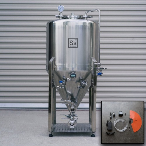 1 bbl | Nano Series Unitank with FTSs Heating & Chilling Package