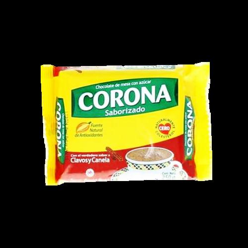 CHOCOLATE CORONA CLAV/CANELA 250gr