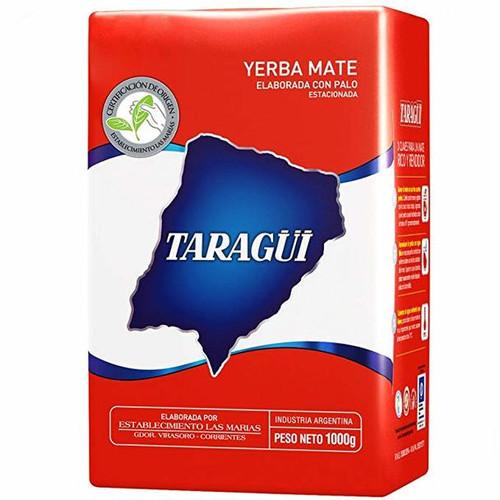 Taragái Yerba Mate Classic Flavor Con Palo (con tallos) de Las Marías (1 kg / 2.2 lb)