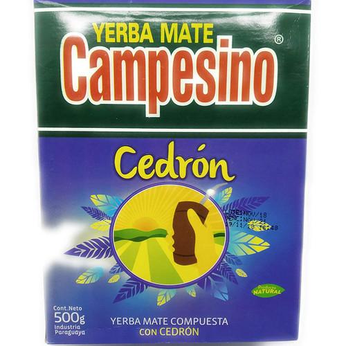 Campesino Yerba Mate compuesta con Cedron 500g