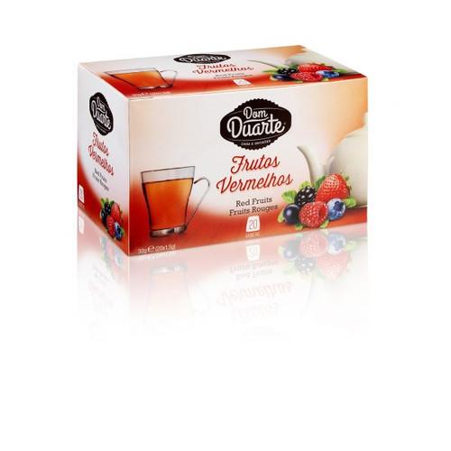 Dom Duarte Chá Frutos Vermelhos 20 Saquetas