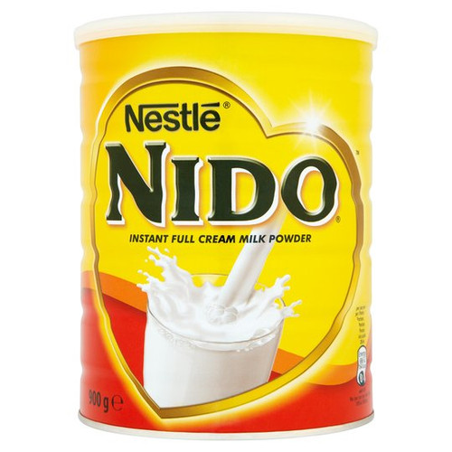 Nestle Nido Leche entera en polvo instantánea 900G