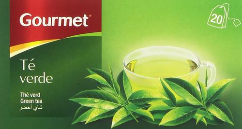 Gourmet  Té verde  20 bolsitas