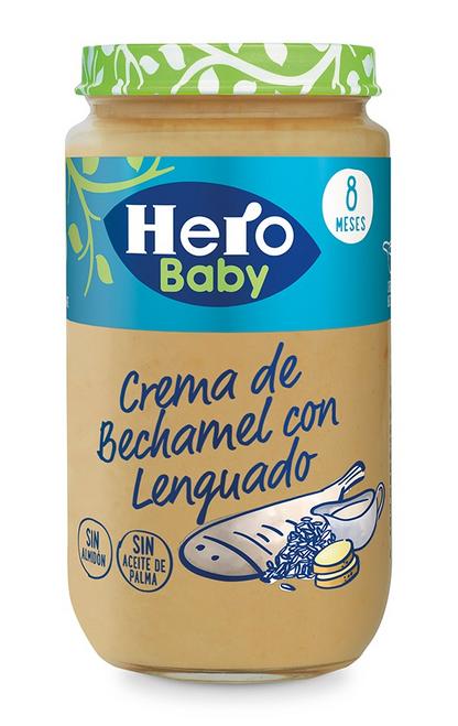POTITOS  Crema de Bechamel con Lenguado