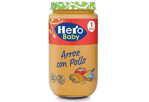 POTITOS  Arroz con Pollo