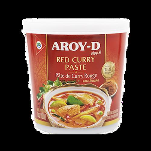 Pasta de curry rojo - 400 g - Aroy-d