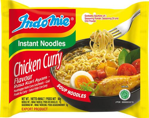 Indomie Halal Chicken Curry Noodle 80 g