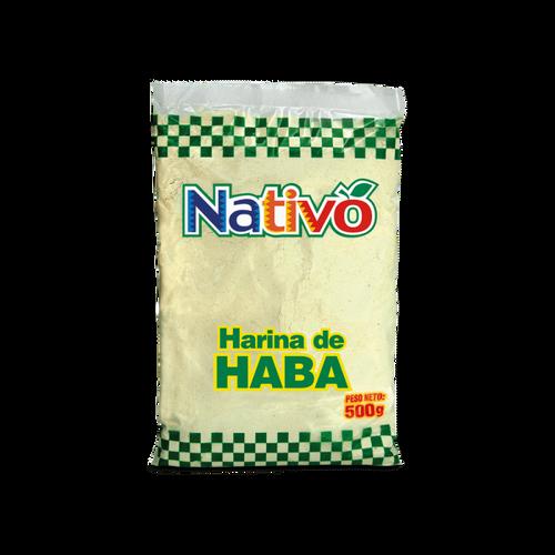 Harina de haba Nativo 500gr