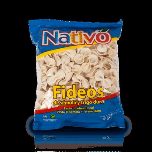 Fideo lazo grande Nativo400 g