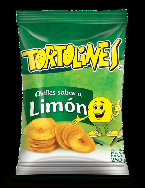 Chifle limon Tortolines250gr