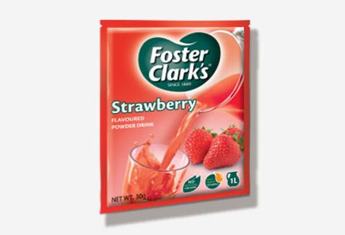 Foster Clark instant drink Strawberry
