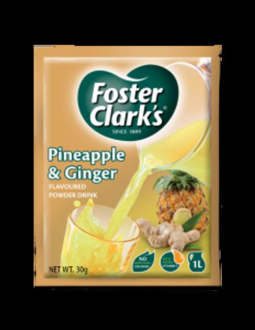 Foster Clark instant drink Pineapple & Ginger