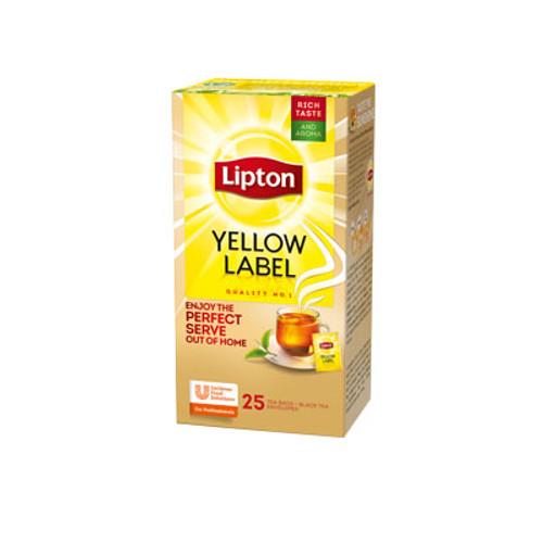 Yellow Label Lipton Tea 25 BAGES