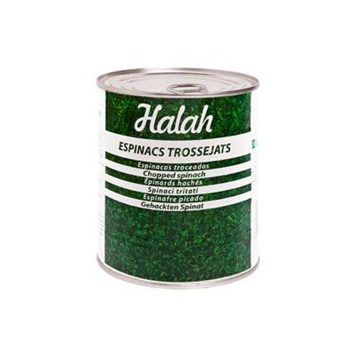 Spinachs in pieces Halah 850gr
