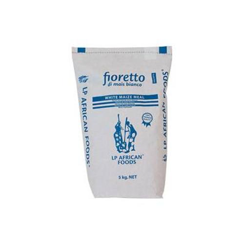 Harina de Fioretto de maíz blanco African Foods 5kg