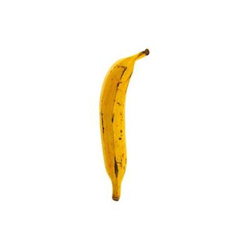 Plátano maduro fresco