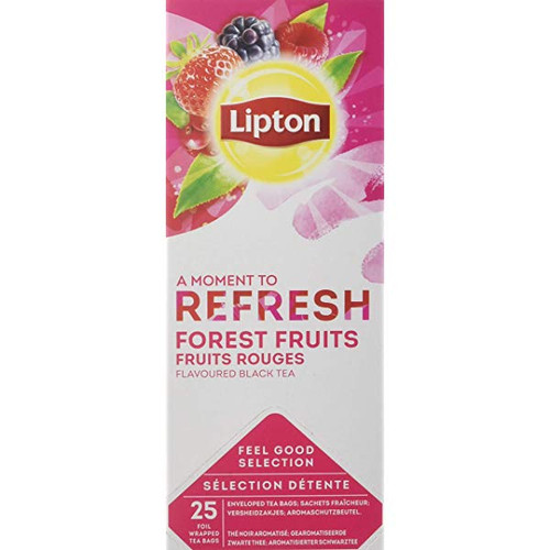 LIPTON REFRESH FOREST FRUITS 25 BAGS