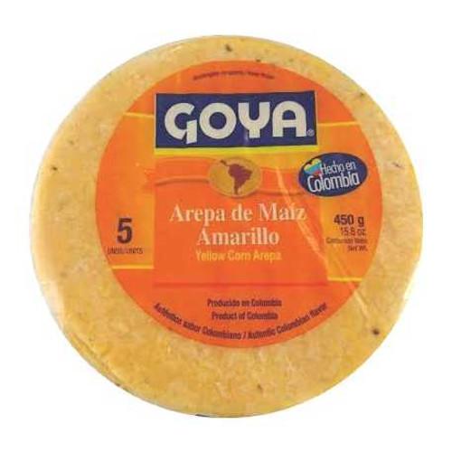 AREPA DE MAIZ AMARILLO 450g 5und