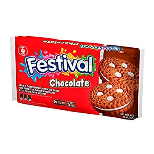 GALLETA FESTIVAL CHOCOLATE