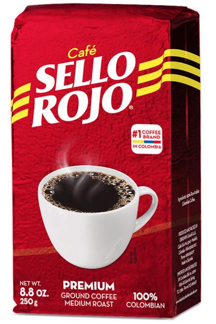 CAFE MOLIDO SELLO ROJO 250gm