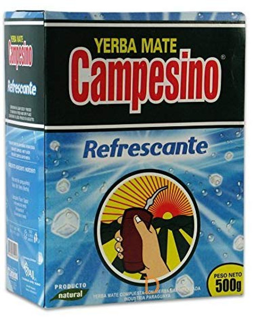 Yerba Mate Campesino aromatizada de menta 500gr